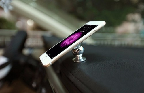 360 Degrees Sticky Magnetic Mobile Phone Holder Stand