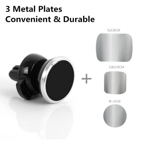Magnetic Car Mobile Phone Holder metal plate sizes