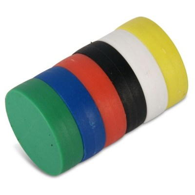 N48 ABS Plastic Coating Round Strong NdFeB Magnet