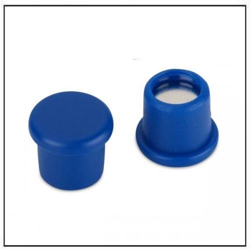 Office Neodymium Magnet with Blue Plastic Coating