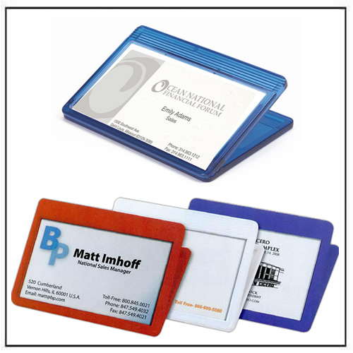 Promotional Business Card Magnet Clip