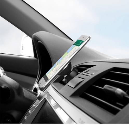 Universal 360 Rotating Magnetic Car Air Vent Mount Cell Mobile Phone Holder Stand