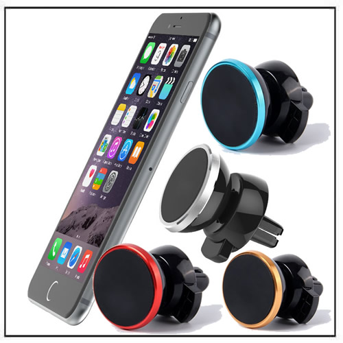 Universal 360 Rotating Magnetic Car Air Vent Mount Phone Holder Stand