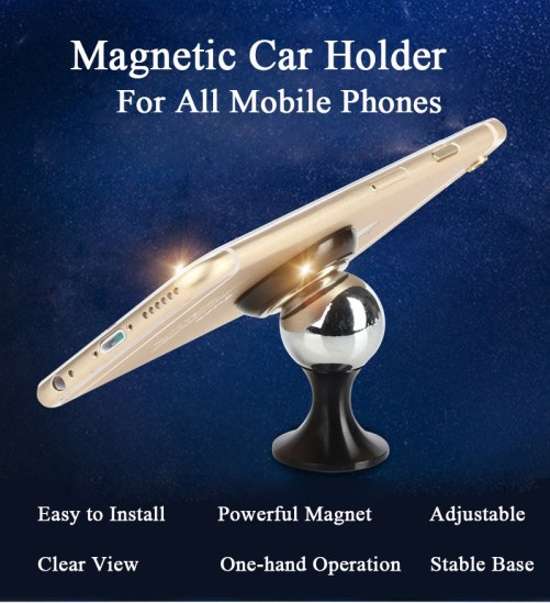 magnetic car holder for all mobile phones