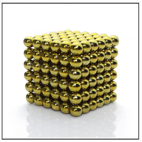 Buckyball Toy Magnets Bronze