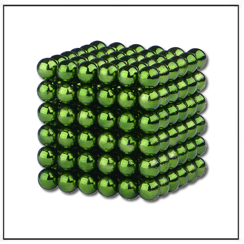 MagCube Neocube Dia 5mm Magnetic Balls Green