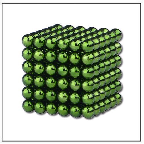 MagCube Neocube Dia 5mm Magnetic Balls Green