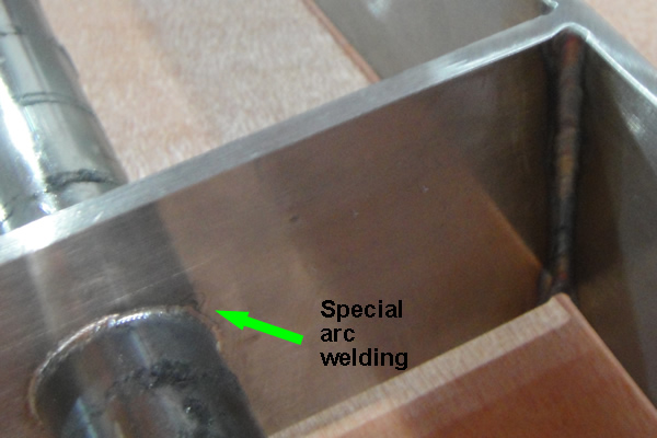 cold-welding magnetic tubes