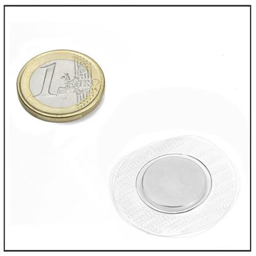 16mm Dia Sew-in Neodymium Magnet
