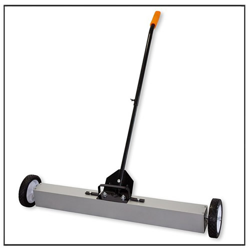 36″ Magnetic Rolling Sweeper Handle Release