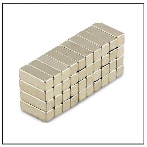 Neodymium-Iron-Boron Rectangular Magnet 12 x 4 x 4 mm