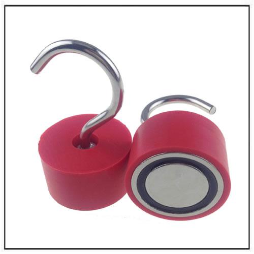 Neodymium Plastic Hook Magnet Assembly