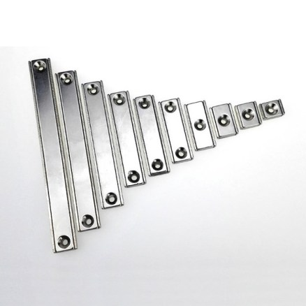 rectangular channel magnets assembly