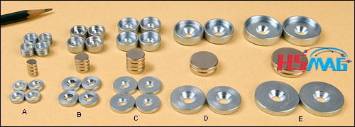Magnet Cup & Washer Sets