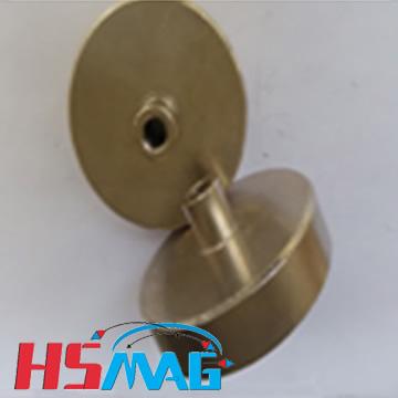 NdFeB Internal Female threaded Pot magnet