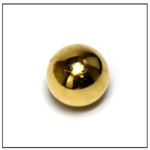 Sphere Gold Coated NdFeB Magnets