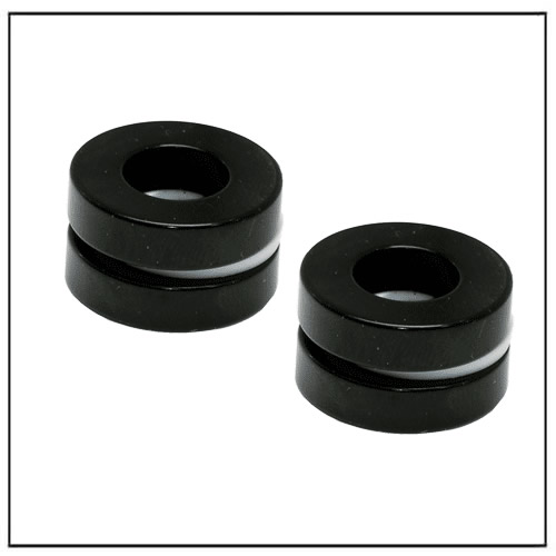 Black Epoxy Plated Ring Neodymium Magnet