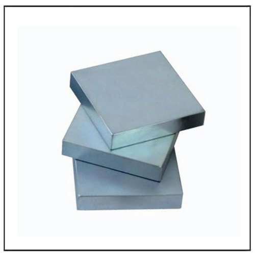 Zinc Coated Neodymium Block Magnets