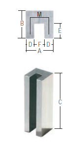 alnico channel magnet drawing