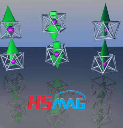 magnetic superatoms