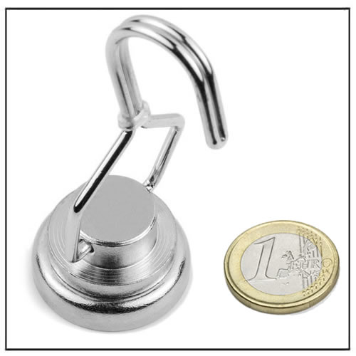 Ø32mm Neodymium Rotating Hook Magnet