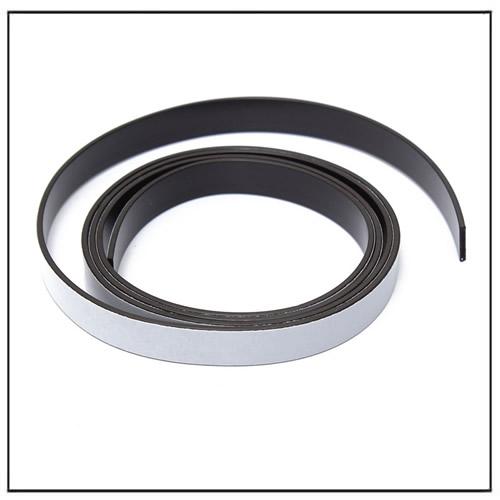 10X1.5mm Self Adhesive Magnetic Tape Strip