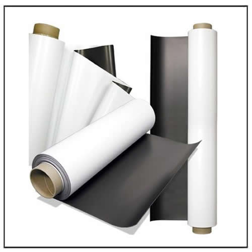 photo about Printable Vinyl Rolls named Printable White Vinyl Magnetic Rolls - Magnets By way of HSMAG