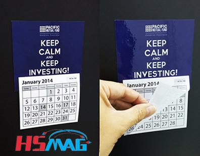 Calendar Fridge Magnet
