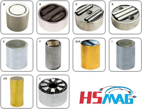 Cylindrical Pot Magnet Assemblies