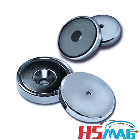 Round Base Magnets - Round Cup Magnets