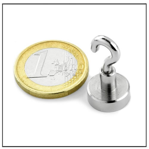 Sintered Neodymium Magnetic Hook Assembly 5KG