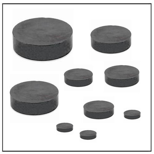 Disc Hard Ferrite Magnets