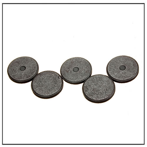 Multiple Pole Ceramic Magnets Thin Disc