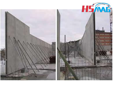 Precast concrete formwork wall panels - Magnets By HSMAG