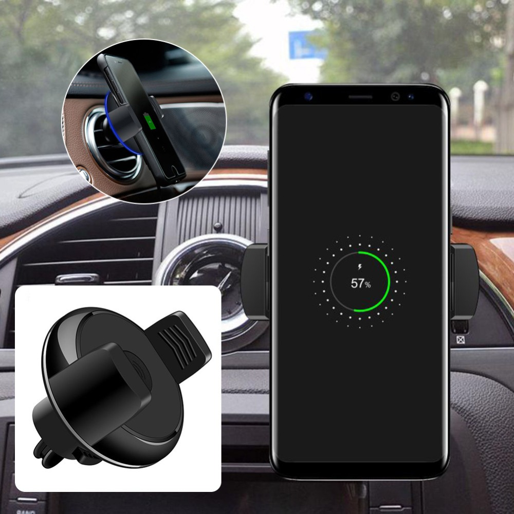 Car Phone Magnetic Wireless Charging Holder