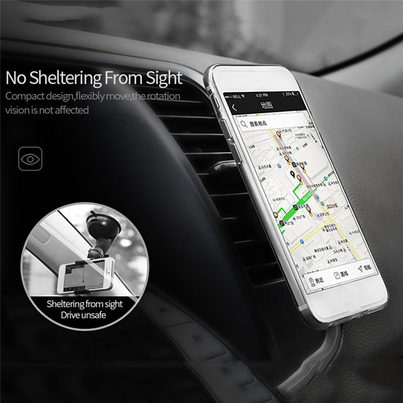 Magnetic Wireless Charging Charger Car Mount Stand