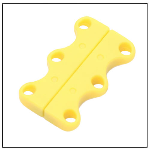 Yellow Easy Openning and Closing Shoelace Magnets