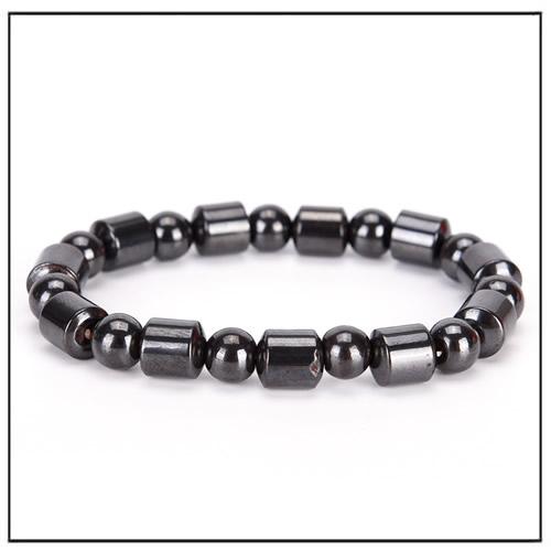 Black Stone Magnetic Therapy Bracelet