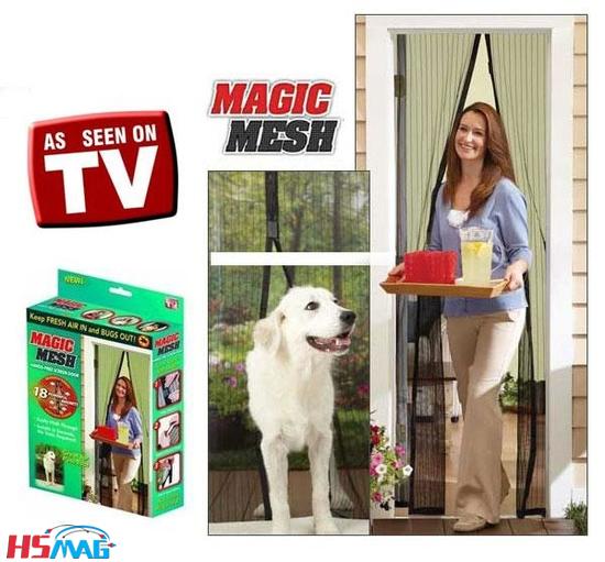 Magic Mesh (Magnetic Screen Door Cover)