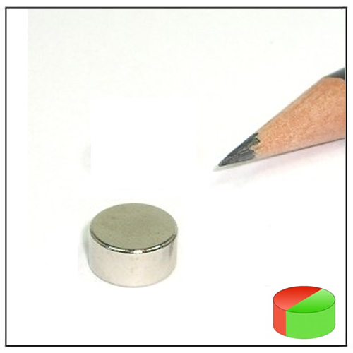 Diametral Magnetized Magnet Round Disc