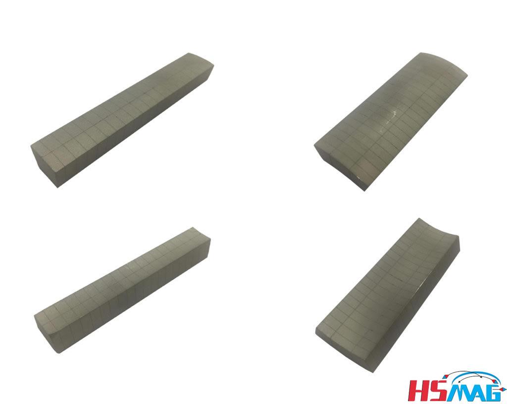 Magnet Segmentation Technique