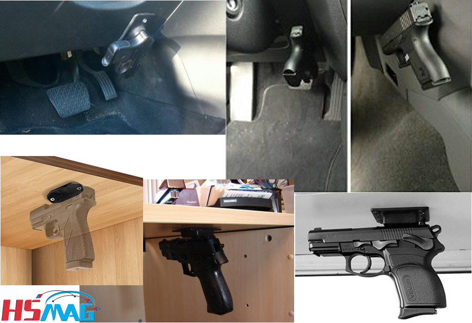 Gun magnets used applications