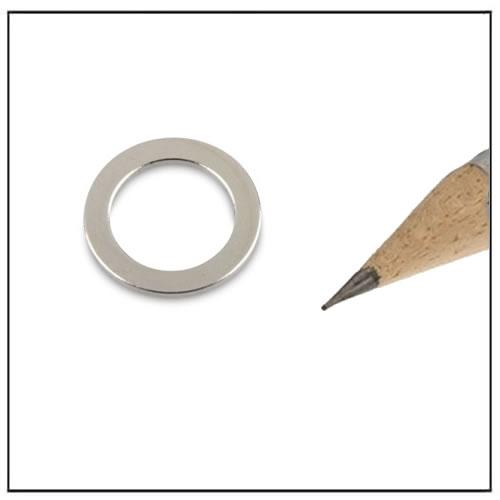 NdFeB Neo Ring Ø13 x Ø9 x 1 mm N40