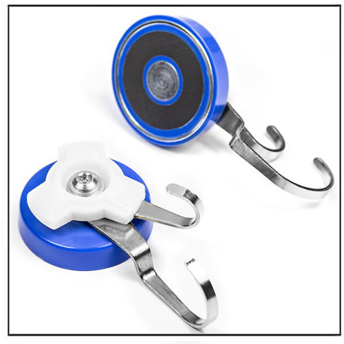 Double Rotating Magnetic Hook