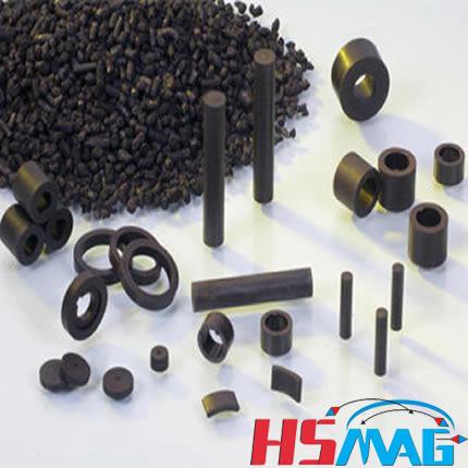 Injection Bonded Hybrid Magnets
