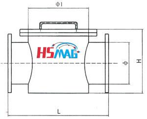 Conduit Permanent Iron Separator Drawing