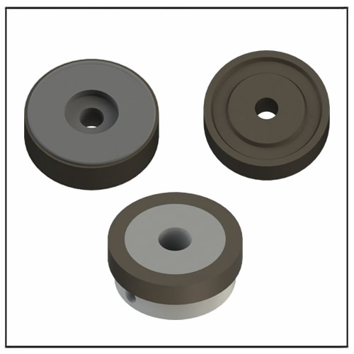 Radial Multipole Magnetic Rings Assembly