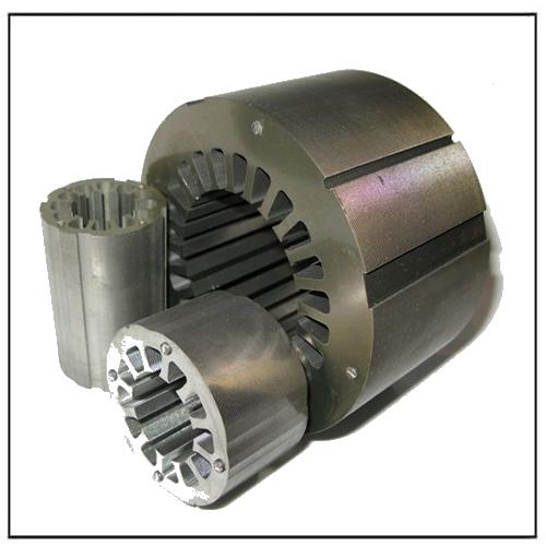 AC DC Tubular Motor Stator and Rotor Lamination Core