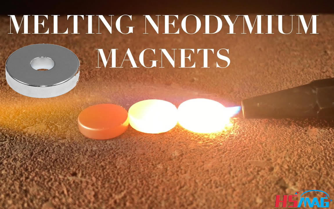 what happens when the magnet melts