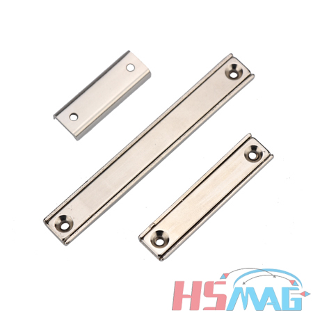 Neodymium Rectangular Pot Magnets with Countersunk